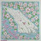 STATE SOUVENIR HANDKERCHIEF FOR NORTH CAROLINA