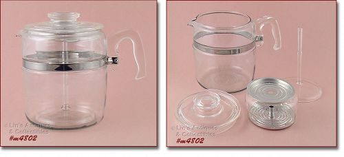 PYREX  VINTAGE 9 CUP COFFEE MAKER COFFEE POT EXCELLENT CONDITION