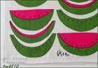 VINTAGE VERA WATERMELON PATTERN KITCHEN TOWEL NEW OLD STOCK