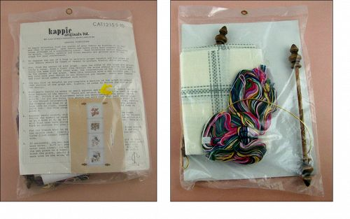 KAPPIE ORIGINALS LTD FLORAL WALL HANGING KIT MINT UNOPENED PACKAGE