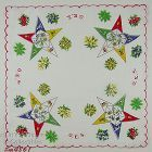 ORDER OF THE EASTERN STAR VINTAGE HANDKERCHIEF