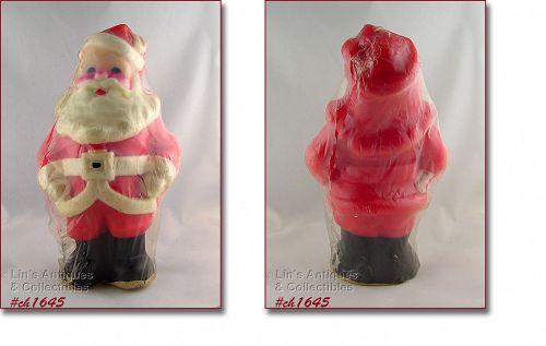 Gurley Large Santa Shaped Vintage Christmas Candle