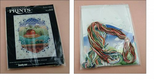 Janlynn NeedleArt Prints Kit Titled The Window NOS