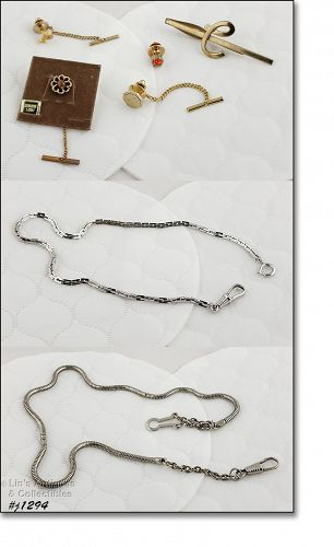 Vintage Apparel Jewelry Accessories for Men