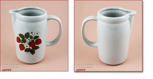 McCoy Pottery Strawberry Country Serving Pitcher