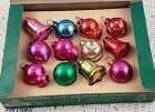 Vintage Shiny Brite Glass Christmas Ornaments