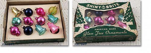 Shiny Brite Vintage Glass Ornaments