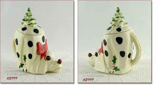 McCoy Pottery Mac II Cookie Jar Treat Jar Dated 1999 and Signed