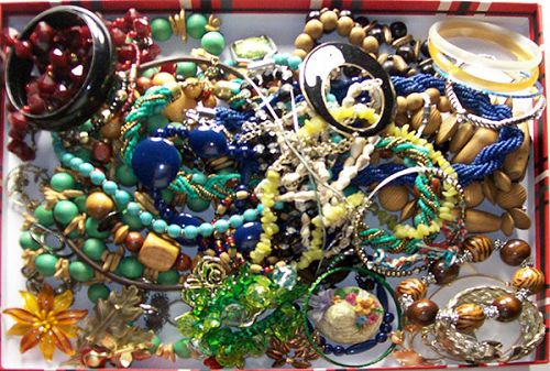 Vintage to Now Jewelry Lot 57 Pieces NO Junk Lot 4
