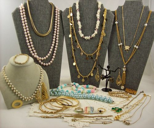 Vintage to Now Jewelry Lot 32 Pieces NO Junk