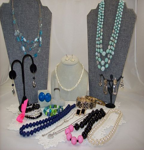 Vintage to Now Jewelry Lot 19 Pieces NO Junk