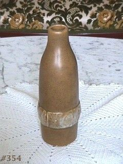 McCOY POTTERY VINTAGE BOTTLE VASE BILLIE McCOY DESIGN