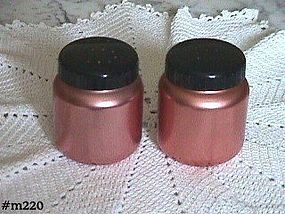 ALUMINUMWARE -- COLOR CRAFT SALT AND PEPPER SHAKERS