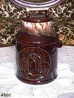 McCOY POTTERY -- BICENTENNIAL COOKIE JAR (BROWN DRIP)