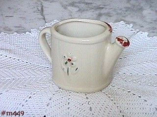 "SHAWNEE POTTERY -- WATERING CAN (3 1/4"")"