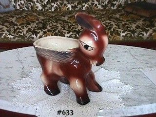McCOY POTTERY -- PLANTER (LARGE DONKEY)