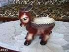 McCOY POTTERY DONKEY SHAPED PLANTER LARGE PLANTER 10 INCHES TALL