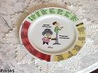 VINTAGE DIETING CALORIE COUNTING PLATE DATED 1971