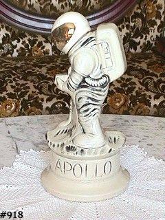 McCOY POTTERY -- APOLLO ASTRONAUT DECANTER