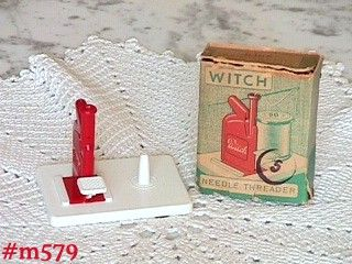 """WITCH"" NEEDLE THREADER (MIB) -- WEST GERMANY"