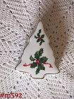 LEFTON -- CHRISTMAS TREE TRINKET BOX