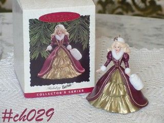1996 HALLMARK HOLIDAY BARBIE HALLMARK IN ORIGINAL BOX