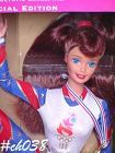 COLLECTIBLE DOLL -- 1996 OLYMPIC GYMNAST BARBIE