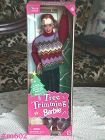1999 SPECIAL EDITION TREE TRIMMING BARBIE NEVER REMOVED FROM BOX