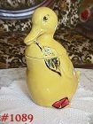 McCOY POTTERY -- YELLOW DUCK COOKIE JAR