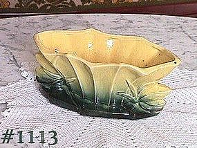McCOY POTTERY -- FLOWER FORM PLANTER
