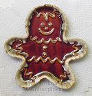 HULL POTTERY -- GINGERBREAD MAN PLATE