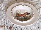 McCOY POTTERY -- GOLDEN RETRIEVER ASHTRAY