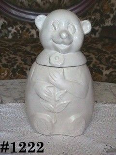 McCOY POTTERY VINTAGE SNOW BEAR COOKIE JAR