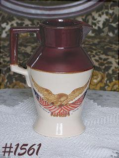 McCOY POTTERY -- SPIRIT OF '76 LARGE SIZE PITCHER