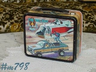 VINTAGE THE FALL GUY LUNCHBOX NO THERMOS