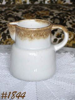 McCOY POTTERY -- GRAYSTONE MILK PITCHER