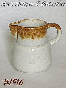 "McCOY POTTERY -- GRAYSTONE PITCHER (6"")"