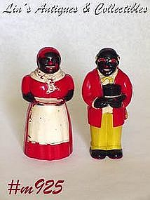 UNCLE MOSE AND AUNT JEMIMA SALT AND PEPPER SHAKER SET