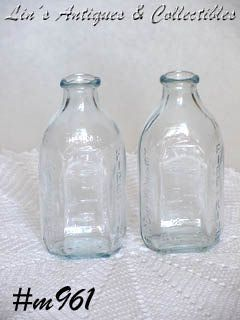 FIRE-KING -- VINTAGE SAPPHIRE BLUE 4 OUNCE NURSER / BABY BOTTLE