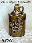 McCOY POTTERY -- GREEN COOKIE JUG COOKIE JAR