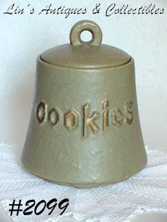 McCOY POTTERY -- COOKIE BELL COOKIE JAR