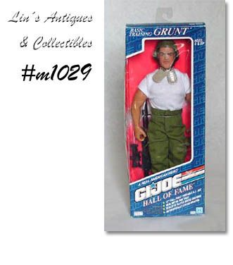 GI JOE BASIC TRAINING GRUNT NEVER REMOVED FROM BOX