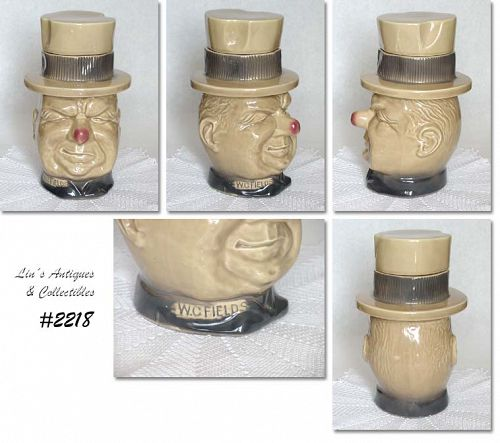 McCOY POTTERY -- VINTAGE W.C. FIELDS COOKIE JAR