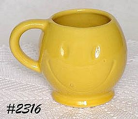 McCOY POTTERY -- HAPPY FACE (SMILE) MUG