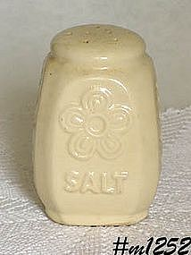 SHAWNEE POTTERY -- FLOWER AND FERN SALT SHAKER