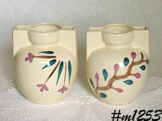 PURINTON POTTERY --  PAIR OF VASES!