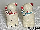 "KITCHEN WARE -- ""BEARS"" SALT AND PEPPER SHAKER SET"