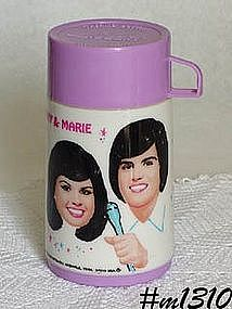 ALADDIN -- DONNY AND MARIE THERMOS