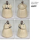"McCOY POTTERY -- ""MAMMY"" COOKIE JAR"