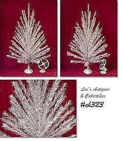 """6 FT. """"REVERE"""" ALUMINUM TREE, STAND AND COLOR WHEEL!"""